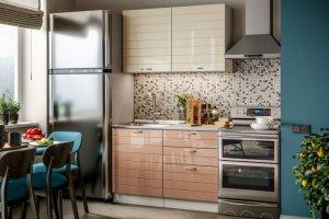 Прямая мини кухня Модерн - Мебельная фабрика «Стиль»
