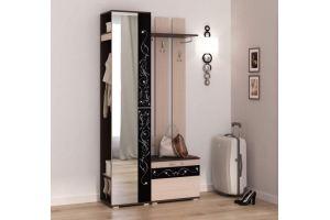 Прямая прихожая с зеркалом Антарес - Мебельная фабрика «ЛЕКО»