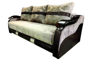 Прямой диван - Мебельная фабрика «Лора»