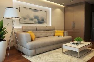 Прямой диван Леон А - Мебельная фабрика «Полярис»