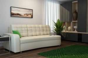 Прямой диван Майами Б - Мебельная фабрика «Полярис»