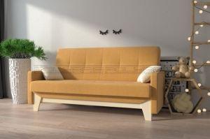 Прямой диван Микс с каретками - Мебельная фабрика «Полярис»