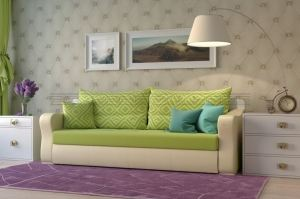 Прямой диван Монако - Мебельная фабрика «Полярис»