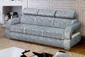 Прямой диван с подголовниками Монте-карло - Мебельная фабрика «Катрина»