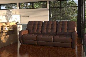 Прямой диван-кровать Соло (3-х местный) - Мебельная фабрика «Фиеста-мебель»