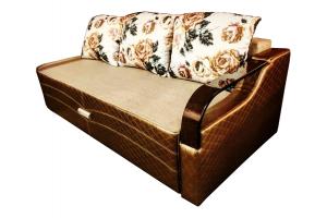 Прямой раскладной диван - Мебельная фабрика «Лора»