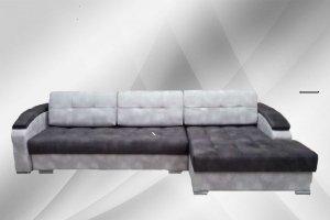 Диван Рио угол с оттоманкой - Мебельная фабрика «Анжелика»