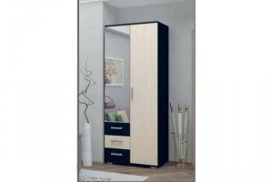 Шкаф 2-дверный комбинированный