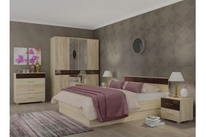 Спальный гарнитур ЛИНДА - Мебельная фабрика «Гайвамебель»