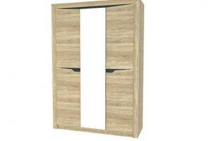 Шкаф Алсу 3-х створчатый с зеркалом - Мебельная фабрика «Айме мебель-милл»