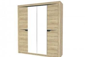 Шкаф Алсу 4-х створчатый с зеркалом - Мебельная фабрика «Айме мебель-милл»
