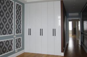 Шкаф глянцевый белый Модерн - Мебельная фабрика «Lakma»