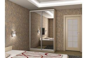 Шкаф-купе 2х дверный - Мебельная фабрика «Вельвет»
