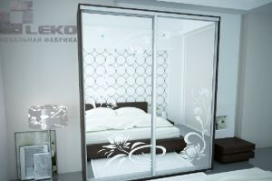 Шкаф-купе Арктур 2.0 каменный цветок - Мебельная фабрика «ЛЕКО»