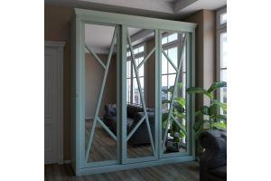 Шкаф-купе в гостиную Кристалл - Мебельная фабрика «ГЕЛИОН»