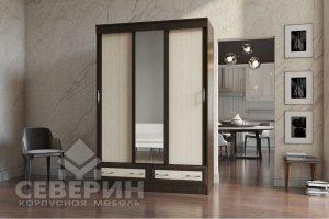 Шкаф-купе Модерн 3-х створчатый - Мебельная фабрика «Северин»