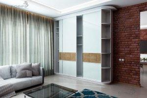 Шкаф-купе с панелями Evogloss - Мебельная фабрика «Бобр»