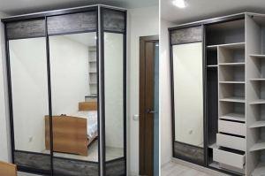 Шкаф-купе в спальню - Мебельная фабрика «Проспект мебели»