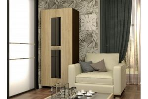 Шкаф КВАНТ 2-х створчатый - Мебельная фабрика «Гайвамебель»