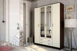Шкаф распашной Белла 4-х створчатый - Мебельная фабрика «Северин»