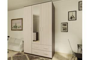Шкаф распашной Эконом-4 - Мебельная фабрика «Рестайл»