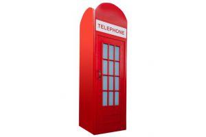 Шкаф-телефонная будка для детской Лондон - Мебельная фабрика «Мандарин»
