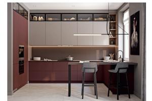 Кухня угловая Сиена Siena - Мебельная фабрика «ЗОВ»