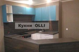 Кухня угловая с барной стойкой - Мебельная фабрика «Кухни OLLI»