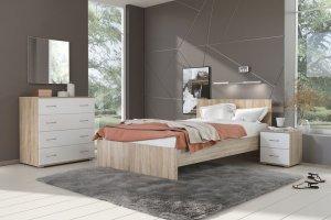 Спальня Сити-11 - Мебельная фабрика «Континент»