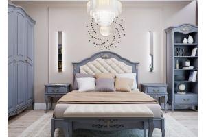 Комплект для спальни Французский Прованс А/1 - Мебельная фабрика «Royal Dream»
