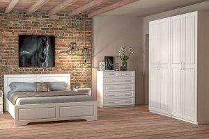 Спальня МДФ Кантри 5 - Мебельная фабрика «ДИАЛ»