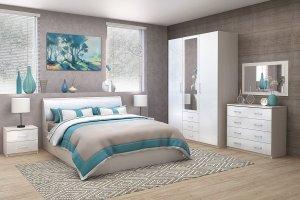 Спальня Кэт 6 ЛДСП 1 - Мебельная фабрика «ДИАЛ»