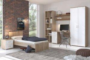 Спальня Сити-10 - Мебельная фабрика «Континент»