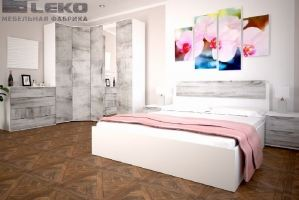 Спальня  Сорренто - Мебельная фабрика «ЛЕКО»