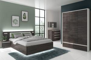 Спальня с распашным шкафом Virginia - Мебельная фабрика «Сильва»