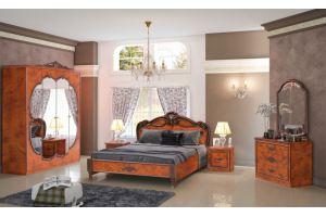 Спальный гарнитур Альба Орех - Мебельная фабрика «Альт-мастер»