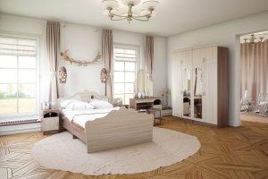 Спальный гарнитур Алина ЛДСП - Мебельная фабрика «Террикон»