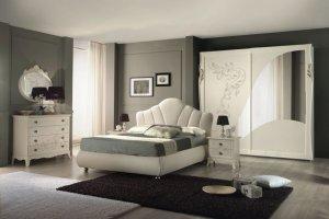 Спальный гарнитур Фиордализо слоновая кость - Мебельная фабрика «Меридиан»