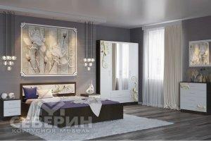 Спальный гарнитур Лазурит-2 модульная система - Мебельная фабрика «Северин»