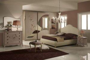 Спальный гарнитур Мимоза - Мебельная фабрика «Меридиан»