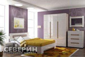 Спальный гарнитур Палермо модульная система - Мебельная фабрика «Северин»