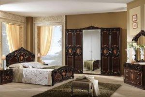 Спальный гарнитур ПАМЕЛА Могано - Мебельная фабрика «Альт-мастер»