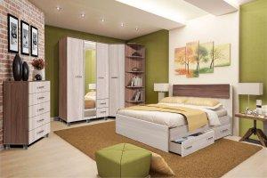Спальный гарнитур Парма-3 - Мебельная фабрика «Олимп»