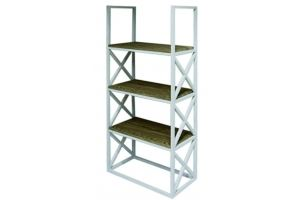 Стеллаж FORM FIR WHITE - Мебельная фабрика «Desk Question»
