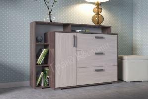 Стильный комод с полками - Мебельная фабрика «Гранд Кволити»