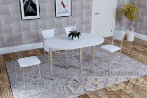 Стол пристенный пластиковый - Мебельная фабрика «ВВР»