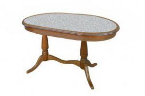 Стол обеденный Дольче О с камнем - Мебельная фабрика «Квинта-Мебель»