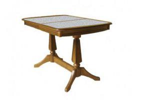 Стол обеденный Дольче П с камнем - Мебельная фабрика «Квинта-Мебель»
