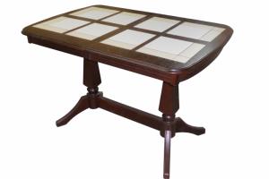 Стол обеденный Дольче П с плиткой - Мебельная фабрика «Квинта-Мебель»