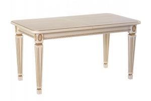 Стол обеденный Меран 03 раздвижной слоновая кость/патина 150/200*80 - Мебельная фабрика «Мебелик»